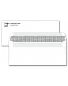 #10 Lined Security Business Envelopes