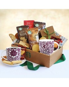 Classic Starbucks Coffee and Cocoa Food Gift Box