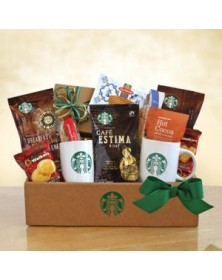 Classic Starbucks Coffee and Cocoa Gifts Basket