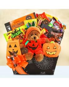 Halloween Pumpkin Party Delights Food Gift Basket