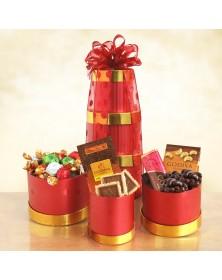 Godiva Glory Holiday Food Gift Tower