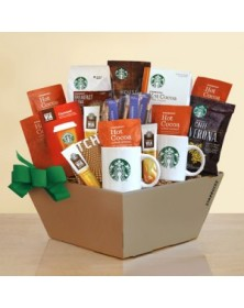 Starbucks Ultimate Coffee, Cocoa & Chocolate Holiday Basket