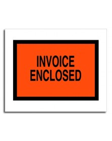 Tinted Plastic Envelope - Invoice Enclosed