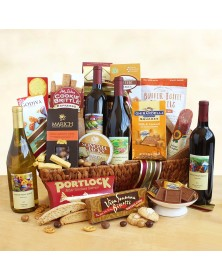 California Splendor Food Gift Basket