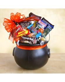 Halloween Cauldron of Chocolate Treats Gift