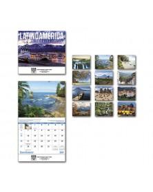 2019 Latinoamerica En Paisajes Wall Calendar