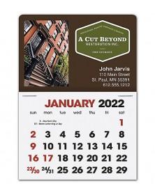 2019 Full-Color Rectangle - Stick-Up Calendar