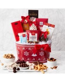 Holiday Festive Feast Food Gift Basket