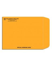 Kraft Paper Custom Printed Envelopes