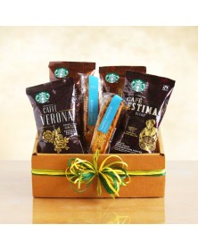 Starbucks Sampler Coffee Gift Baskets