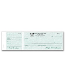 Vineyard Gift Certificates, Booked Sets, Green Vine