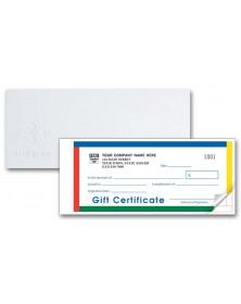 Gift Certificates - Individual Carbonless Sets - Primary