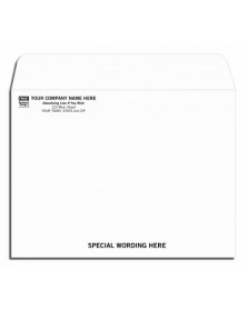 Open Top 9 X 12 Mailing Envelope