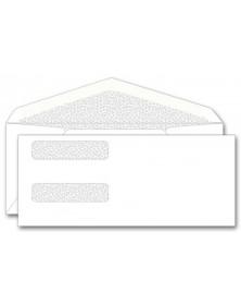 Confidential Double Window Envelopes