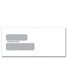 Confidential Double Window Envelopes