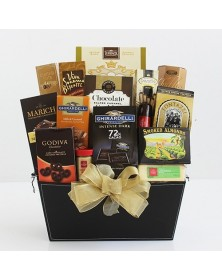 Fine and Fancy Gourmet Food Gift Basket