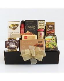 Classic Gourmet Salami & Cheese Food Gift Basket