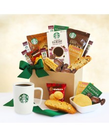 Give Thanks with Starbucks Food Gift Basket