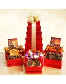 Godiva Holiday Red Tower