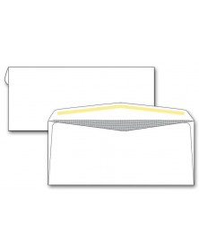 #9 Confidential Lined Business Envelopes