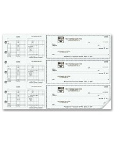 3-To-A-Page Hourly Payroll Checks (53263N) - 3-To-A-Page Checks  - Business Checks | Printez.com