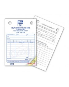 Register Forms Designed for Clothing Layaways