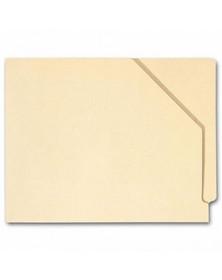 End Tab Diagonal Cut File Pocket, Manila 11 pt, No expansion (Item # 1343) - Business Checks Supplies  - Business Checks | Printez.com