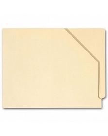 End Tab Diagonal Cut File Pocket, Manila14 pt, No expansion (Item # 1348) - Business Checks Supplies  - Business Checks | Printez.com