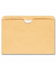 Straight Tab Card File Pocket, 4 1/2 x 6 1/8, Buff (Item # 1643) - Business Checks Supplies  - Business Checks | Printez.com