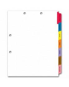 Chart File Divider Side Tab Set (Item #1730) - Business Checks Supplies  - Business Checks | Printez.com