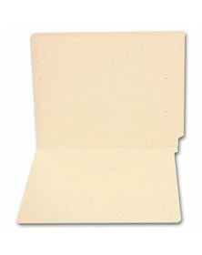 End Tab Full Cut Manila Folder, 11 pt, No Fastener (Item # 1790) - Business Checks Supplies  - Business Checks | Printez.com