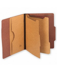 Top Tab Pressboard Folders, Double Divider, Letter Size (Item # 21021) - Business Checks Supplies  - Business Checks   Printez.com