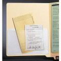 Heavy Duty Adhesive Transparent Plastic File Pockets (Item #21045) - Business Checks Supplies  - Business Checks