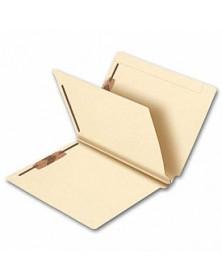 End Tab Single Divider Manila Folder, 14 pt, Multi-Fastener (Item #25912) - Business Checks Supplies  - Business Checks | Printez.com