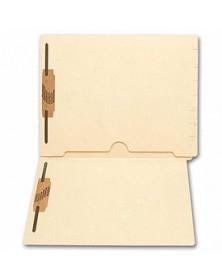 End Tab Full Pocket Manila Folder, 11 pt, Two Fastener (Item # 45551) - Business Checks Supplies  - Business Checks | Printez.com