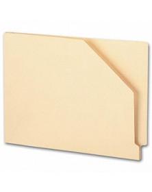 End Tab Diagonal Cut File Pocket, Manila 11 pt, 1 expansion (Item # 7720) - Business Checks Supplies  - Business Checks | Printez.com