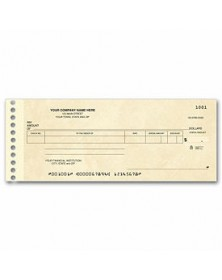 Compact Expense Ledger Check (Item # 114011N) - One-Write Checks  - Business Checks | Printez.com