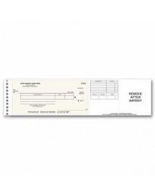 Long Stub Disbursement Check (Item#: 118011N) - One-Write Checks  - Business Checks | Printez.com Reorder Business Checks riting checks, one write general checks, one write checks deluxe, writing checks