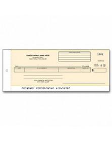 General Disb Center Check - Carbon (Item#: 176CC) - One-Write Checks  - Business Checks | Printez.com