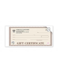 High Security Santa Fe Gift Certificates - Individual Sets