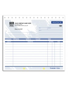 Compact General Invoice Forms - Colored