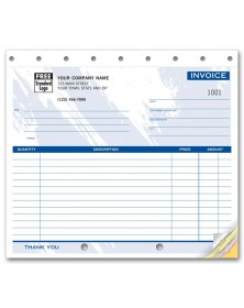 Compact Carbonless Invoice Forms