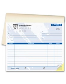 Compact Invoice Books - Colored