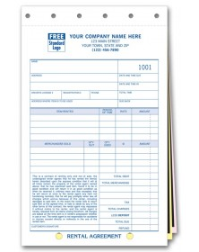 Rental Agreement With Carbons Rental Agreements Free, Service Agreement Forms, Agreement Forms