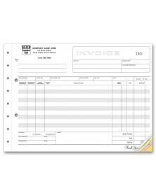 Shipping Invoices - Horizontal Format