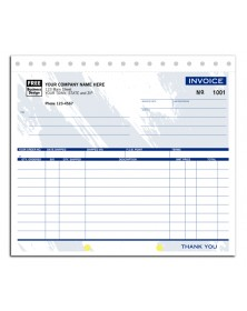 Compact Shipping Invoice Forms -  Colored