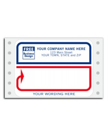 Free Personalized Message Labels
