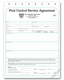 pest control contract service agreements