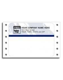 Color Continuous Mailing Labels