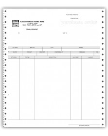 Continuous Purchase Order for ACCPAC